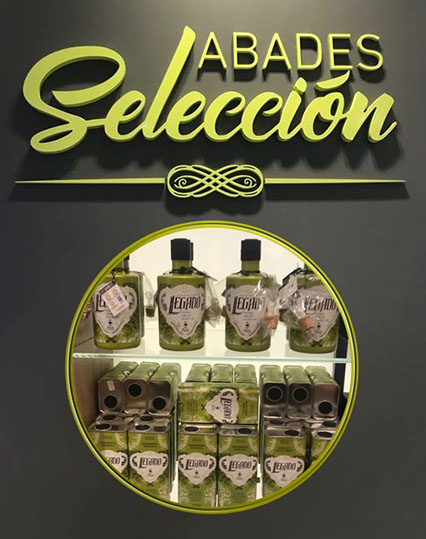LEGADO IS AVAILABLE ON ABADES AREAS