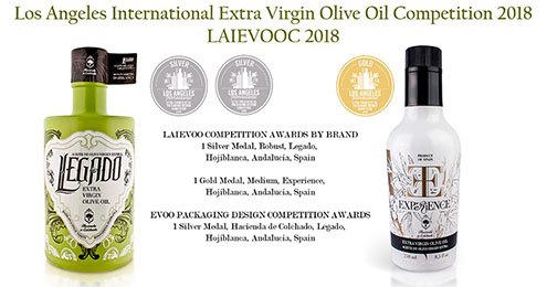LEGADO AND EXPERIENCE, SILVER AND GOLD MEDALS IN LAIEVOOC 2018
