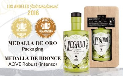 AWARDED AT LOS ANGELES INTERNATIONAL OLIVE OIL COMPETITION