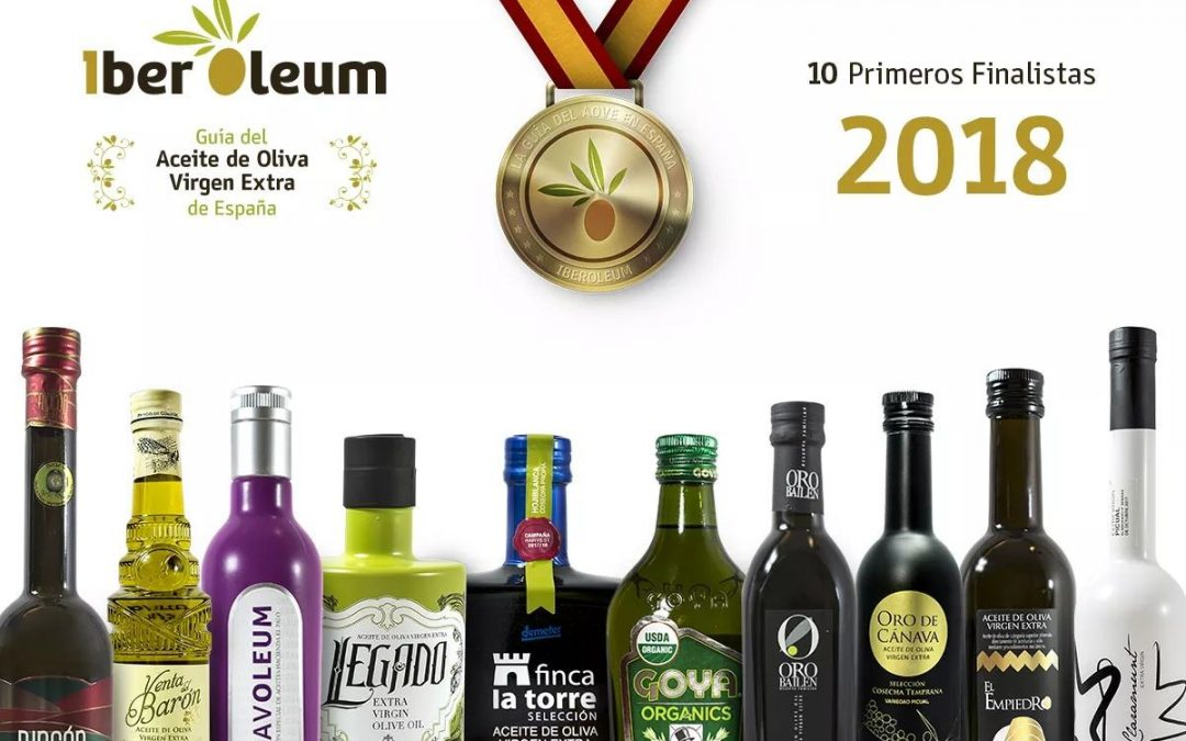LEGADO, ONE OF THE 10 BEST EVOO OF SPAIN IN 2018